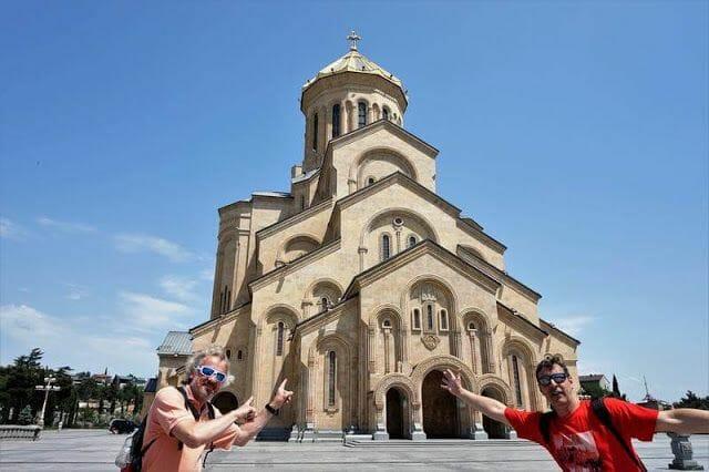 catedral de la Santísima Trinidad de Tiflis o Sameba