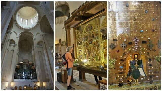 interior de la catedral de Sameba