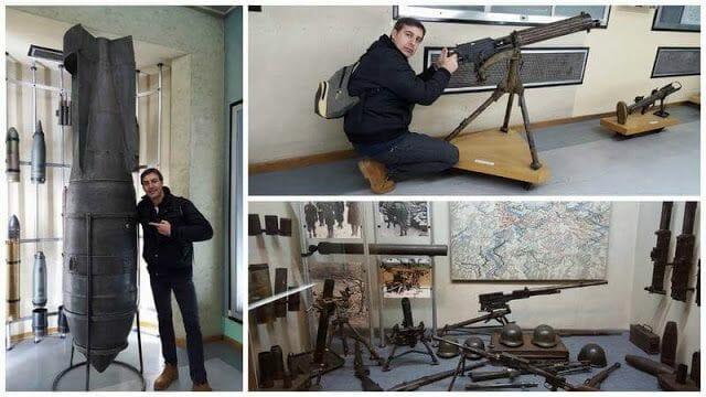 MUSEO MILITAR BELGRADO KALEMEGDAN