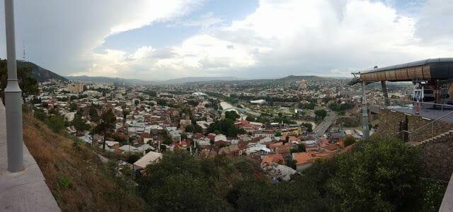 panorámica de Tiflis