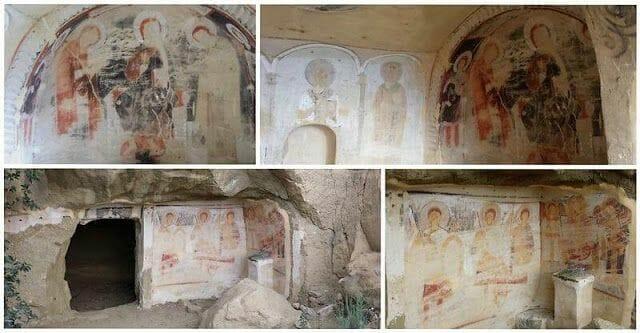Monasterio de Udabnopinturas