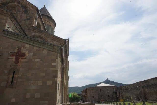 Monasterio Jvaridesde la catedral de Svetitskhoveli
