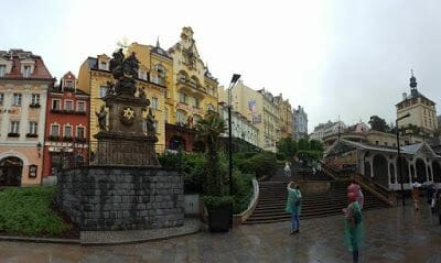 columnata del Mercado de Karlovy Vary