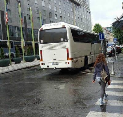 autobus civitatis en praga