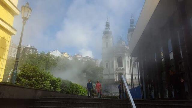 Iglesia Barroca de de Santa María Magdalena.