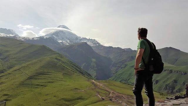 monte kazbek georgia