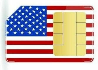 Internet en el móvil. SIM con datos en Estados Unidos. (Opiniones de Telaway).