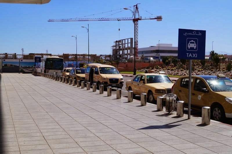 taxis aeropuerto de Marrakech