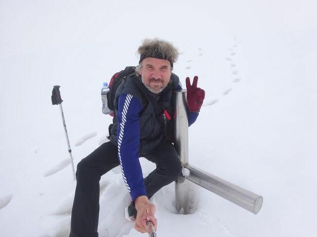 monte Aragats cumbre