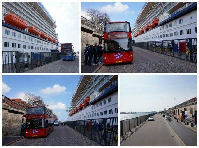 bus turistico copenhague crucero