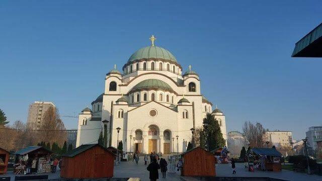 catedral belgrado navidad