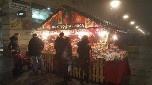 navidad en serbia