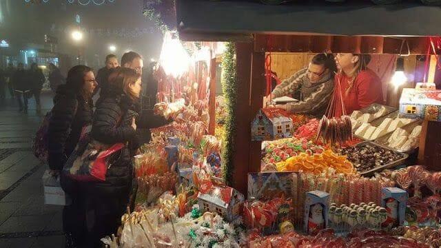 Belgrado navidad en serbia
