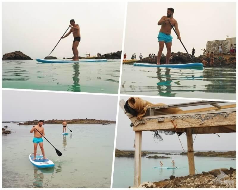 paddle surf - que hacer en isla de lobos