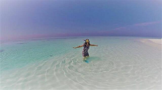 sandbeach maldivas