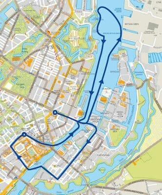 barco bus turistico copenhague mapa