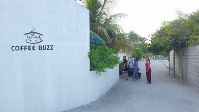 coffe buzz isla de Nilandhoo Maldivas