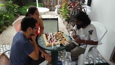 ajedrez en maldivas