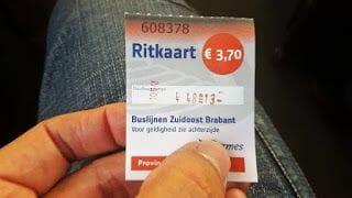 billete de bus aeropuerto eindhoven