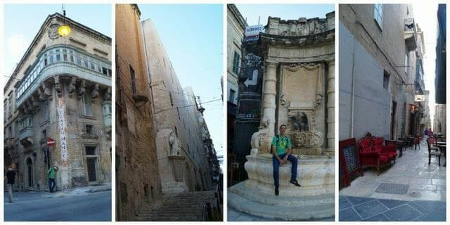 calles que ver en la valeta Malta