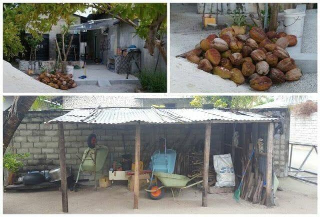 casas isla de Nilandhoo Maldivas