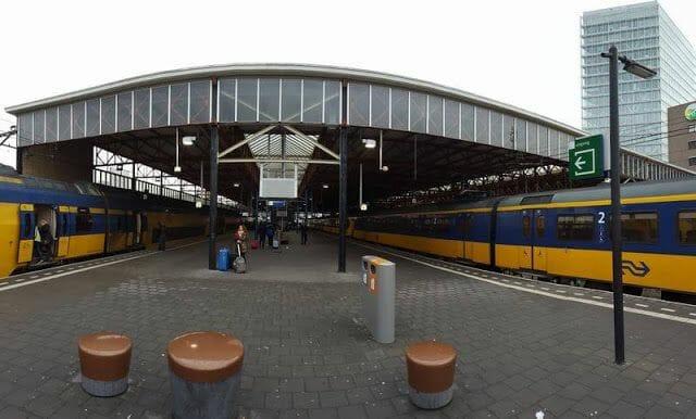plataforma tren estacion eindhoven