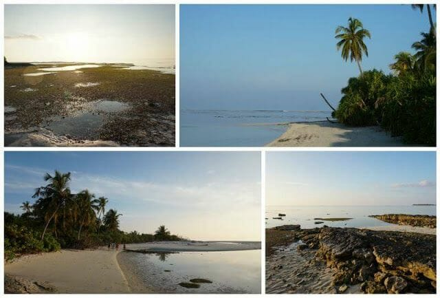 playas isla de Nilandhoo Maldivas