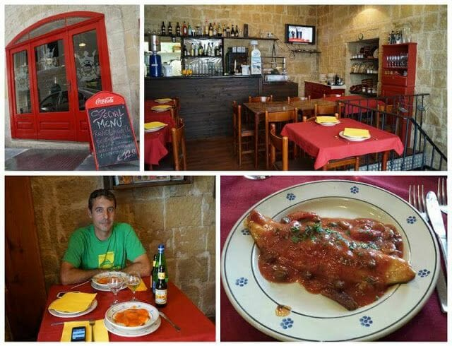 restaurantes de la valeta Malta