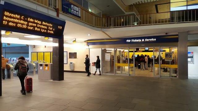 estacion de tren de eindhoven