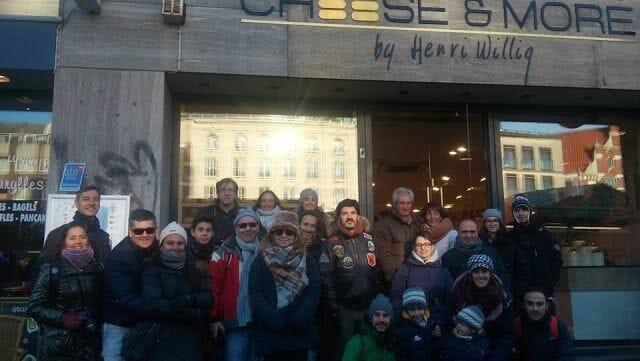 grupo de la visita guiada Ámsterdam