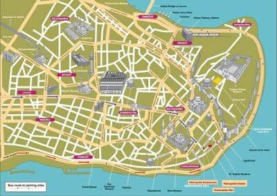 plano Estambul