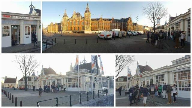 punto partida visita guiada por Amsterdam