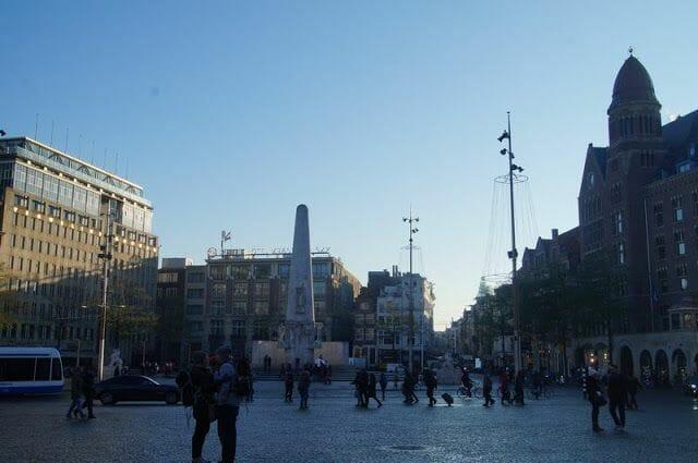Monumento nacional obelisco amsterdam