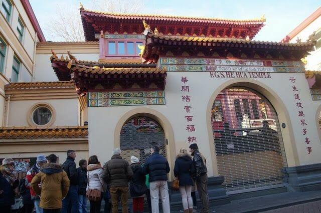 Fo Guang Shan He Hua, o Templo Zeedijk,