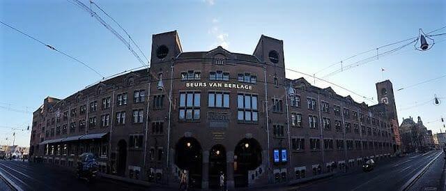 sede de la Bolsa de Valores Amsterdam