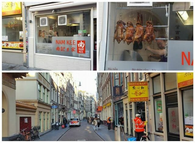 barrio chino - Visita guiada por Ámsterdam