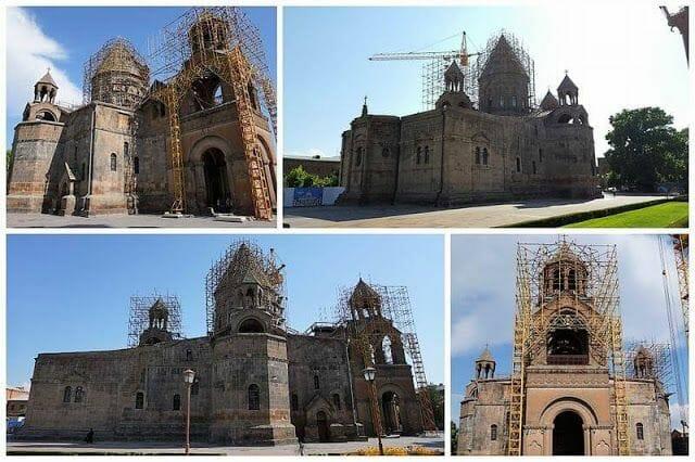 catedral de Echmiadzin en Erevan