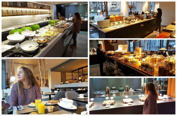 desayuno hotel Pullman Cocagne Eindhoven
