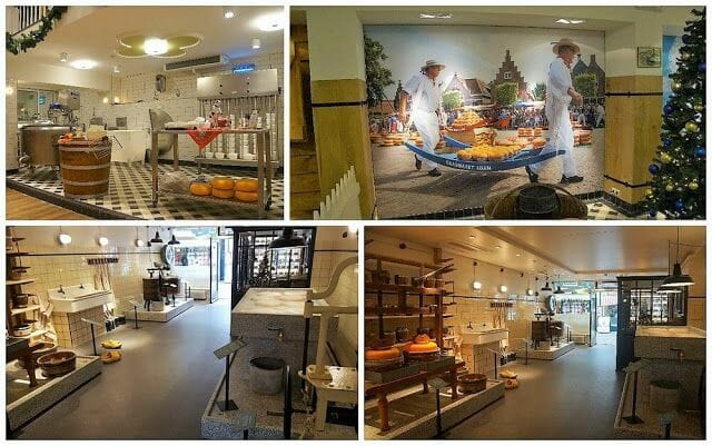 quesos del tour de Zaanse Schans Edam Volendam y Marken