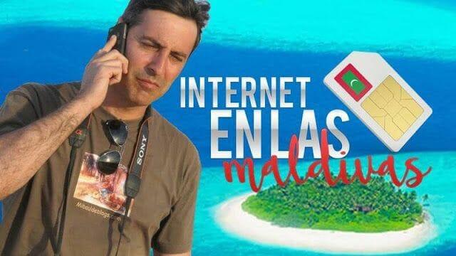 Cómo tener internet en tu móvil en Maldivas