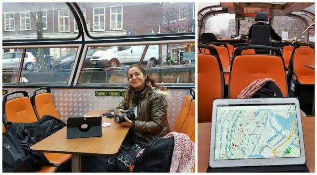 ruta canales de Ámsterdam