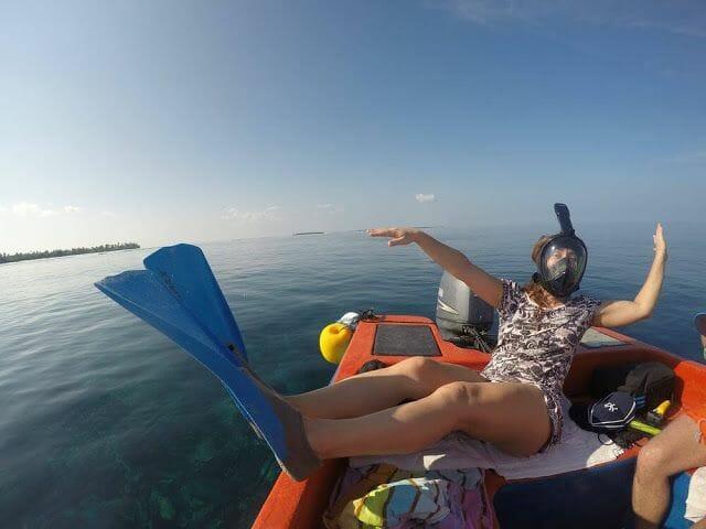 snorkel isla Odagalla