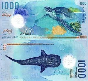 rupias de maldivas