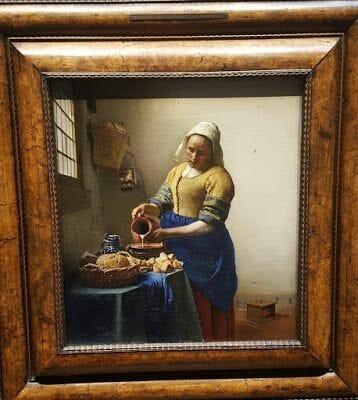 la lechera Rijksmuseum