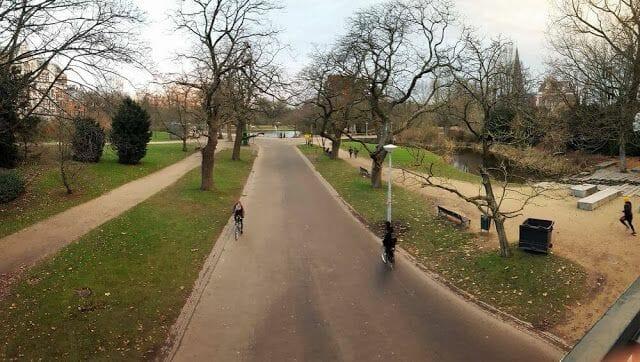 Parque Vondelpark amsterdam
