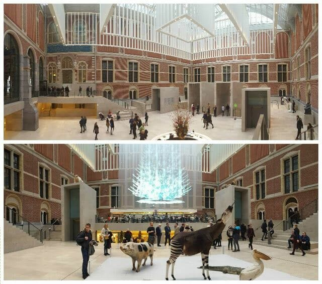 vestibulo museo Rijksmuseum Ámsterdam