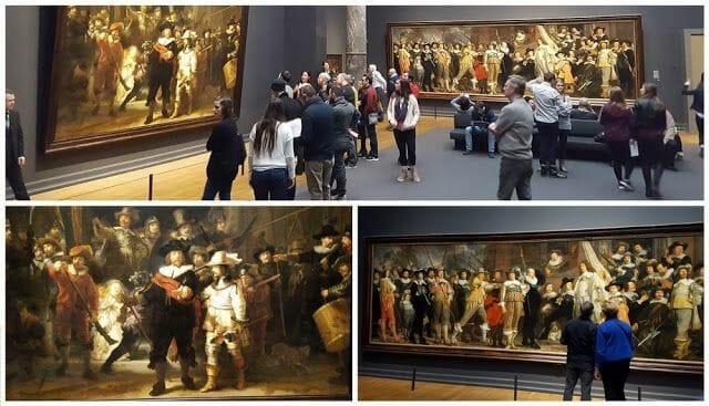 ronda de noche museo Rijksmuseum Ámsterdam