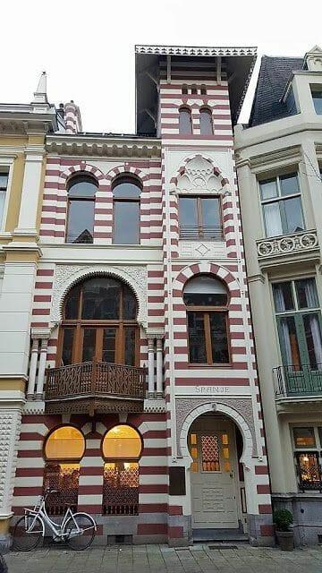 Zevenlandenhuizen casa españa calle Roemer Visscherstraat