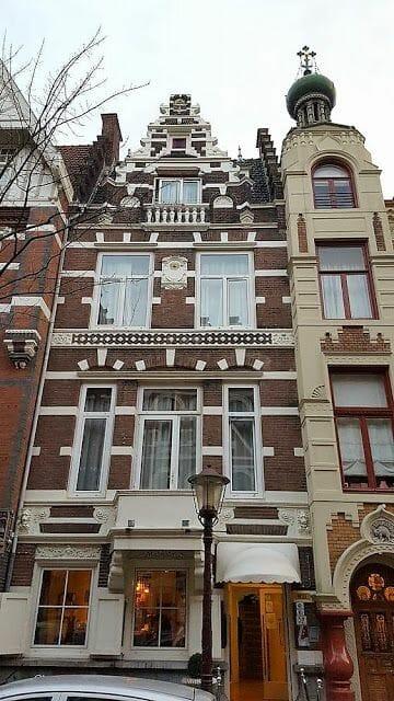 Zevenlandenhuizen paises bajos calle Roemer Visscherstraat