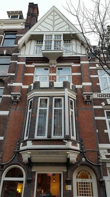 Zevenlandenhuizen casa inglaterra calle Roemer Visscherstraat